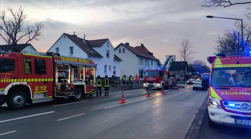 Kaminbrand – Keine Verletzten
