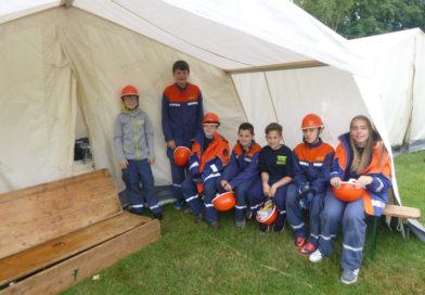 Jugendfeuerwehr nimmt am THW Pfingstzeltlager teil