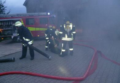 Gemeinschaftliche Einsatzübung der Feuerwehren Detmold und Lemgo