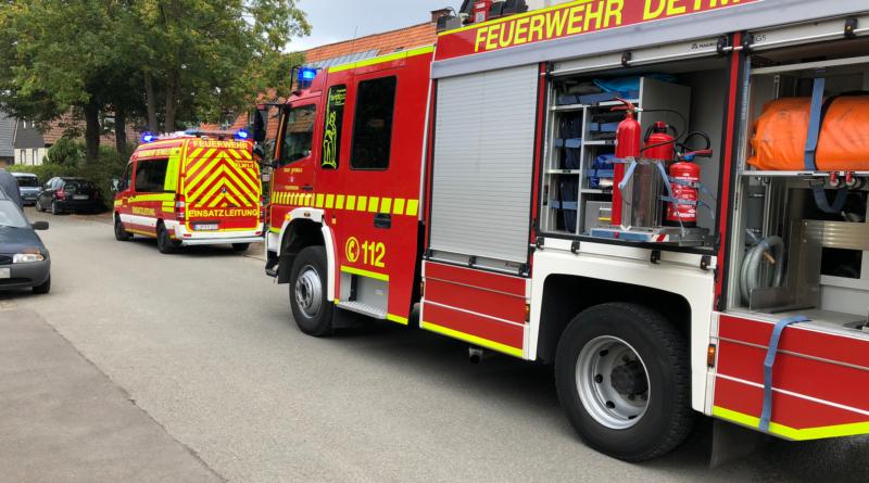 Einsatzreicher Tag für Detmolder Feuerwehr