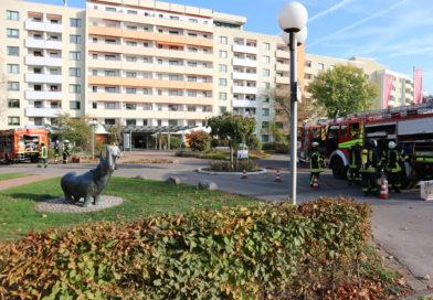Feuerwehr übt am Augustinum