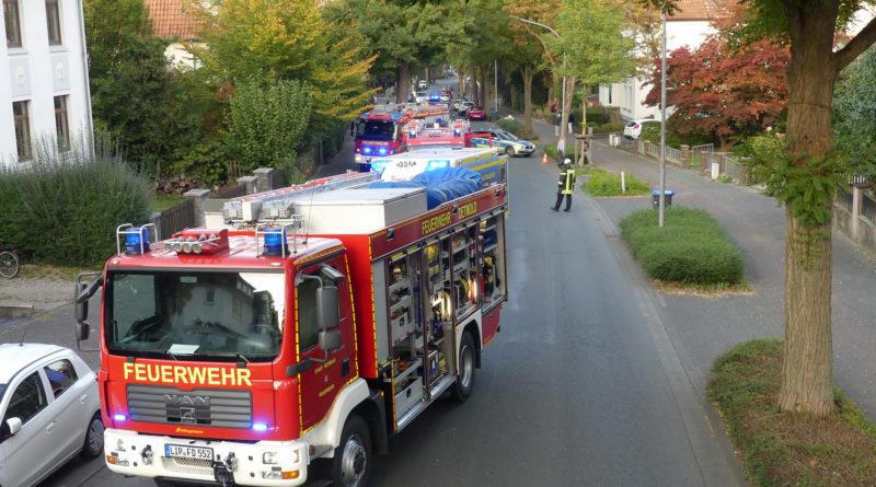 Mehrere Einsätze für Feuerwehr Detmold