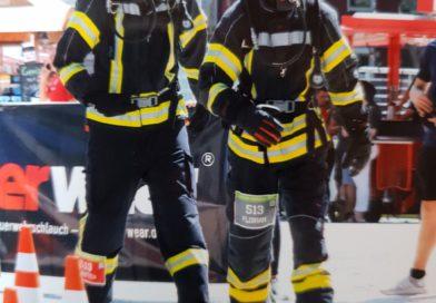 Feuerwehr Detmold erklimmt den Köln-Turm