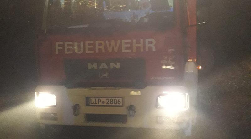 Feuer in Wohngebäude – Bewohner gerettet