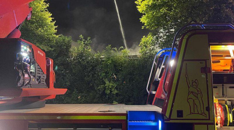 Feuer 3 – Brennender Anbau