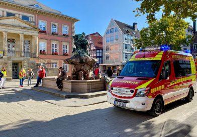 Ausgelöste Brandmeldeanlage im Detmolder Rathaus