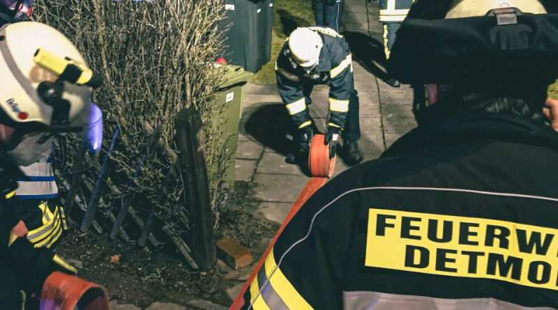 Feuer MiG (Menschenleben in Gefahr) – Bewohner gerettet