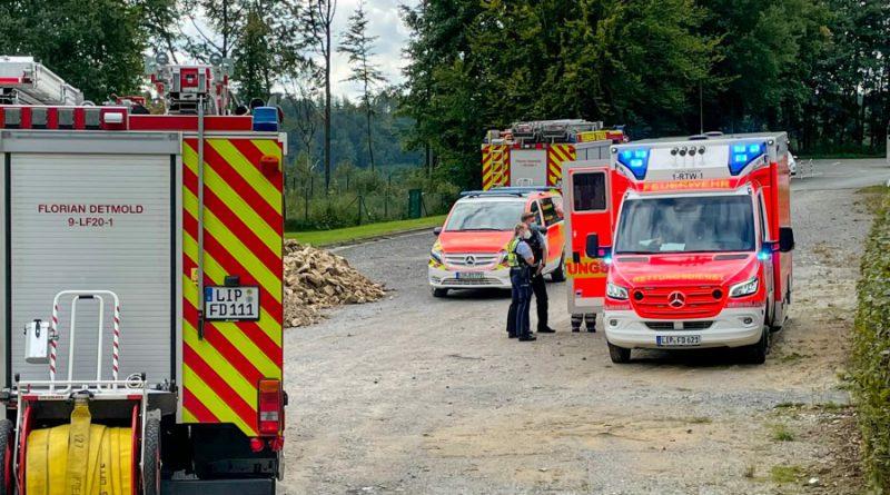 Brennende Gasflasche in Imbissstand – eine verletzte Person