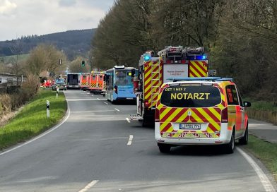 Verkehrsunfall mit fünf Verletzten