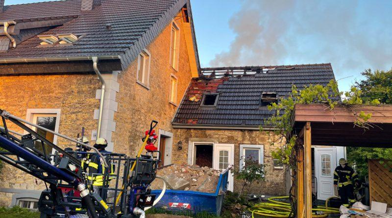 Wohnungsbrand – Menschenleben in Gefahr