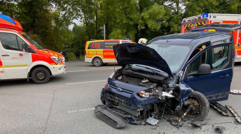 Weiterer Verkehrsunfall am Sonntag